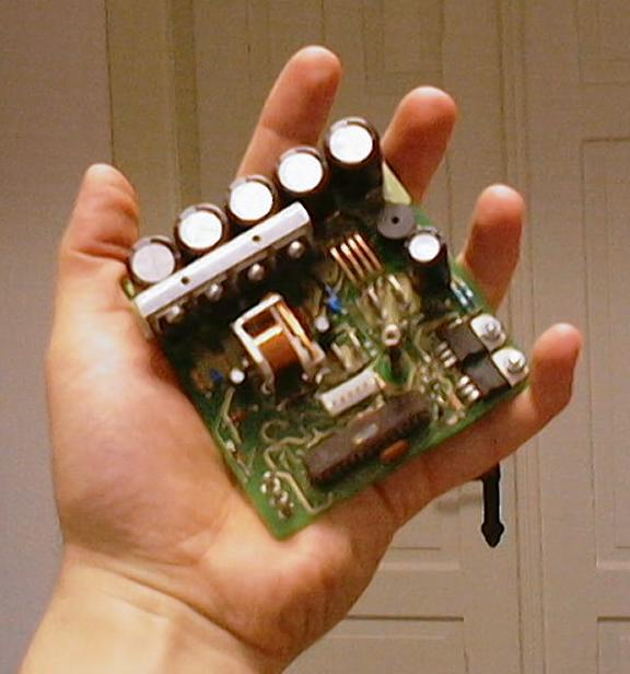 Compact high power controller